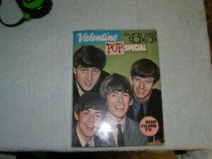 BEATLES  1965 VALENTINE BOOK FROM ENGLAND London Ontario image 8
