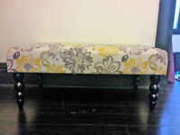 Decorative Indoor Bench