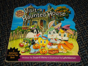 Baby Looney Tunes Visit a Haunted House Board book Lift The Flap