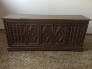 FREE! Retro cool 70's stereo cabinet