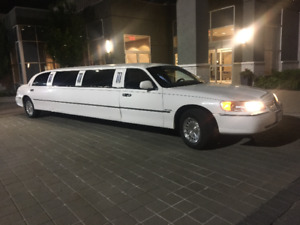 1998. LINCOLN STRETCH LIMOUSINE