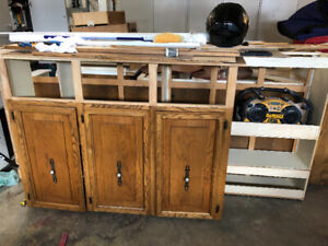 Cabinets - Good for Camp, Garage, Ice Shack etc