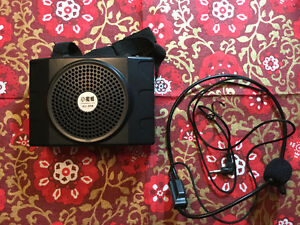 Brand New Loundspeaker with Microphone Ampilifier.    $75.00