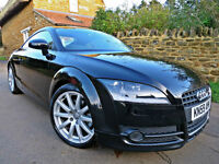 2009 AUDI TT COUPE 2.0 TFSI COUPE. ONE LADY OWNER !! HIGH MILEAGE !!