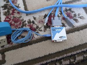 Gefen DVI Booster / Repeater + 10' DVI USB Firewire cable .