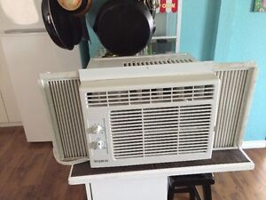 "Smaller 5200 btu air conditioner 12x16 "" could drop off"
