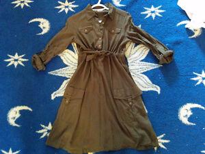 Casual knee length dress
