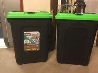 Animal Bird Dog Food Container