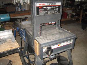Scie à ruban Craftsman 12'' - 1 1/8 HP