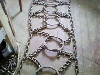 une chaine a anneau de garrett,