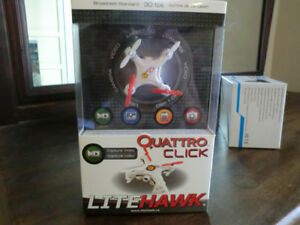 Litehawk Quattro Click Drone with camera/video $20 Brand New
