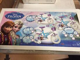 """Kids Frozen Bike 12"""""""