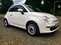 Fiat 500 1.2L Lounge, cheap tax, low insurance, perfect for learner driver, young or elderly driver.