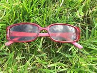 Found - red and pink glasses on Fosse Park