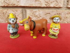 Vintage Original Richard Scarry PUZZLETOWN Farm Figures