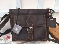 Rowallan of Scotland Leather Shoulder bag