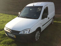 2005 VAUXHALL OPEL COMBO 1.7DCi LEFT HAND DRIVE (LHD) PORTUGUESE REG DIESEL
