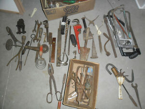 Vintage and Antique tools