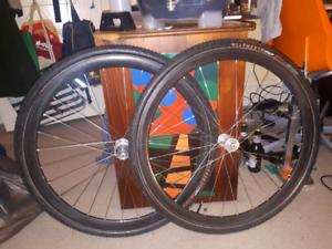 Lightweight Carbon CX offroad wheelset