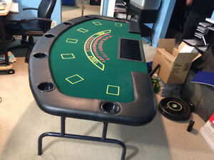 Black Jack Tables (Two Available, Priced Individually) London Ontario image 2