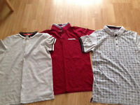 3 x Boys Polo T Shirts