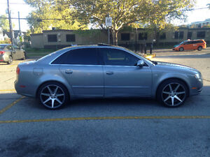 Audi A4 turbo for trade or sell AWD great condition summer car