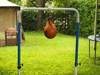 Ballon poire + support ajustable