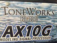 Toneworks Korg Guitar Processor AX10G