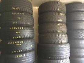 Tyre shop 205 55 16 215 55 16 215 45 16 195 55 16 195 65 15 195 50 15 NEW & PART WORN TYRES