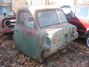 Early 50's Chev truck cab with doors, seat, tank, glass, dash