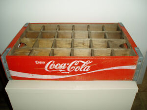 1970's Coca-Cola Bottle Case Very Nice