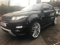 2013 63 LAND ROVER RANGE ROVER EVOQUE 2.2SD4 DYNAMIC / 4WD COUPE / FSH