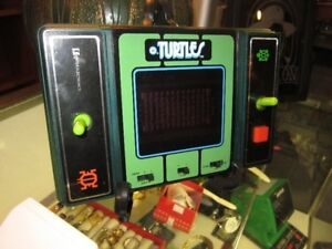 VINTAGE 1982 Electronic TURTLES By ENTEX ELECTRONICS