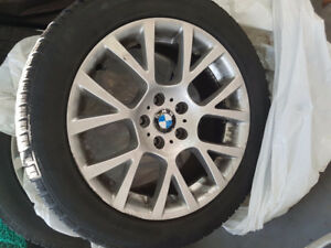 BMW Winter tires on rims