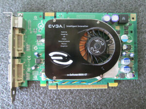 EVGA e-GeForce 8600 GT SSC 256MB PCIe graphics card