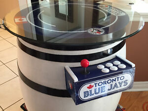Wine Barrel Arcade Machine **500+ Games with warranty** Cambridge Kitchener Area image 1