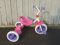trycicle rose trois roue