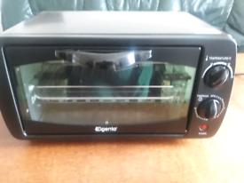Oven elgento mini grill black new