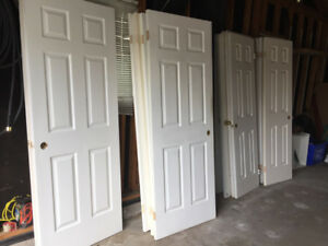 Hollow wood (not masonite) INTERIOR DOORS