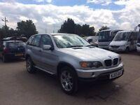 BMW X5 3.0 D SLIVER £2895
