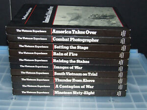 Time Life Books - Vietnam - 10 Book Lot - NEW - $6/Book   or $50