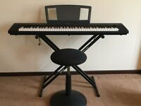 Yamaha Portable Grand NP30 Digital Piano Plus Accessories
