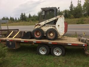 722 Bobcat with quick attach 2 buckets and forks sale or trade
