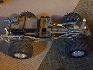 Tamiya Bruiser vintage rc truck with 3 sp manual transmission