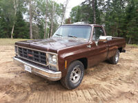 Classic 79 GMC Sierra - Reduced Price - Let's make a deal