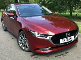image for 2021 Mazda 3 2.0 e-Skyactiv-X MHEV [186] GT Sport Tech 4dr SALOON Petrol Manual