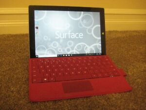 64 GB Microsoft Surface 3 tablet with Microsoft keyboard