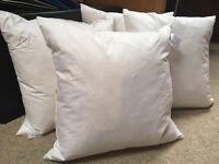 4 brand new cushions