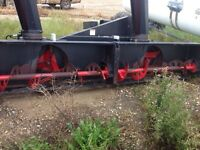 12 foot snow blower for macdon swather