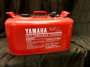 Yamaha 24 L steel fuel cell